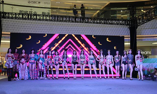 火爆!安徽省第九届国际胸模大赛海选赛热辣开赛